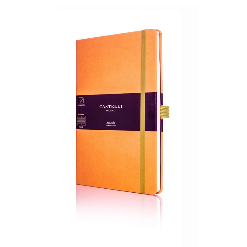 Clementine Castelli Aquarela Ruled Notebook