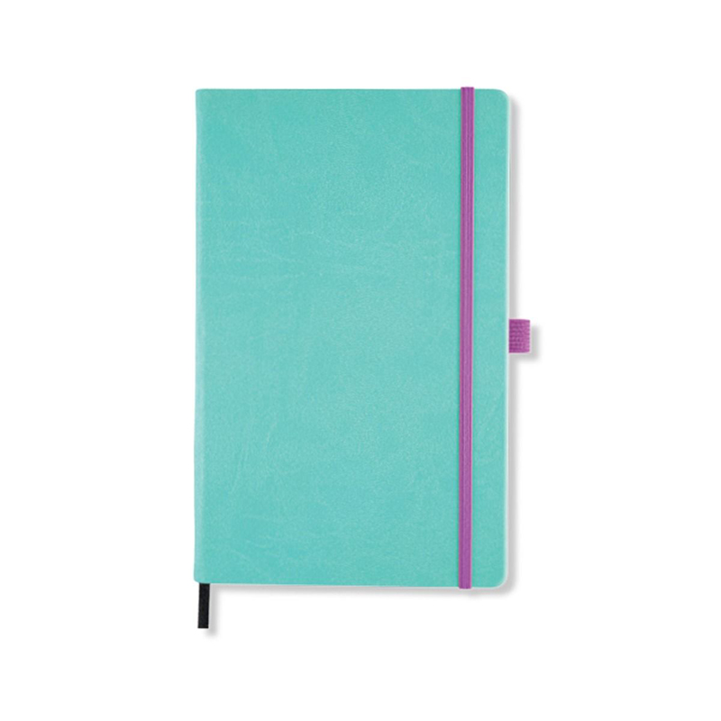 Jade Green Castelli Aquarela Ruled Notebook