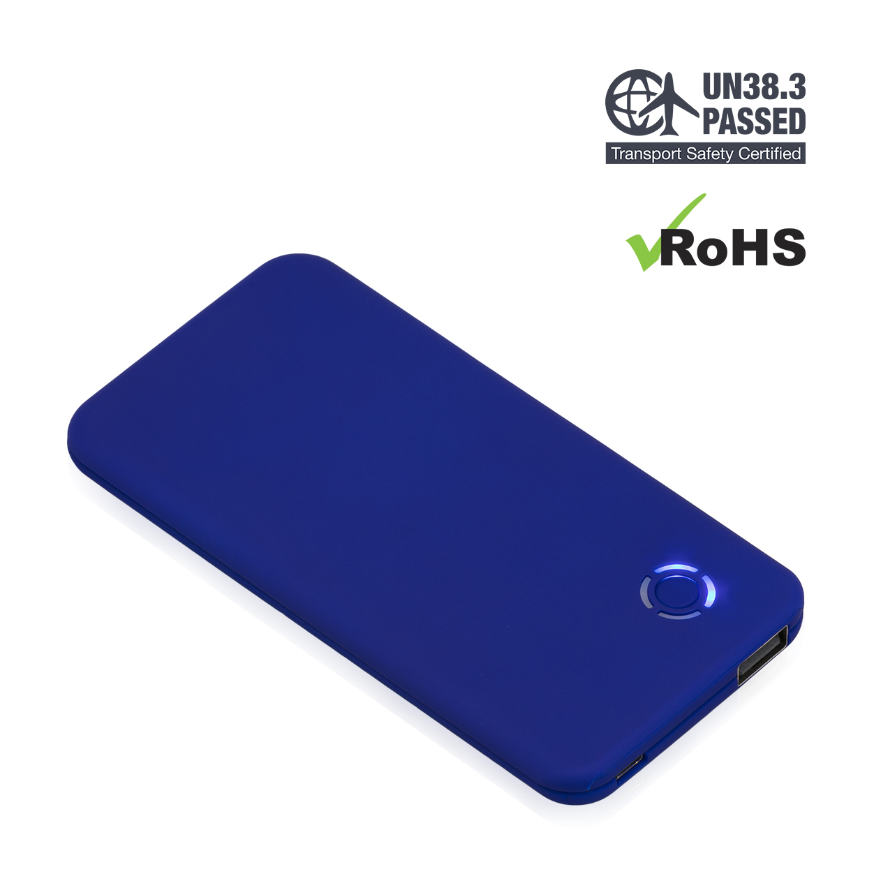 Dark Blue Power Bank 4000mAh