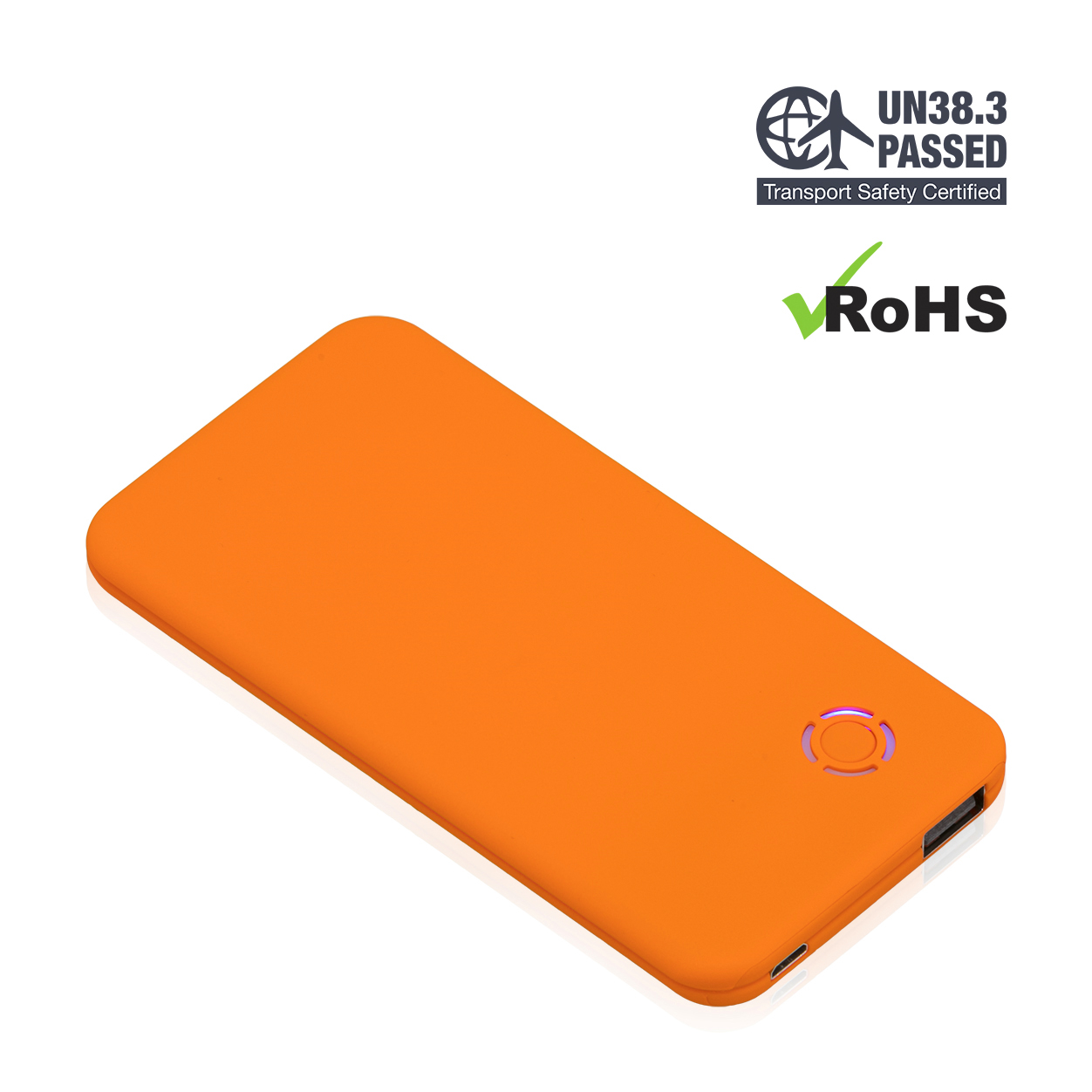 Orange Power Bank 4000mAh