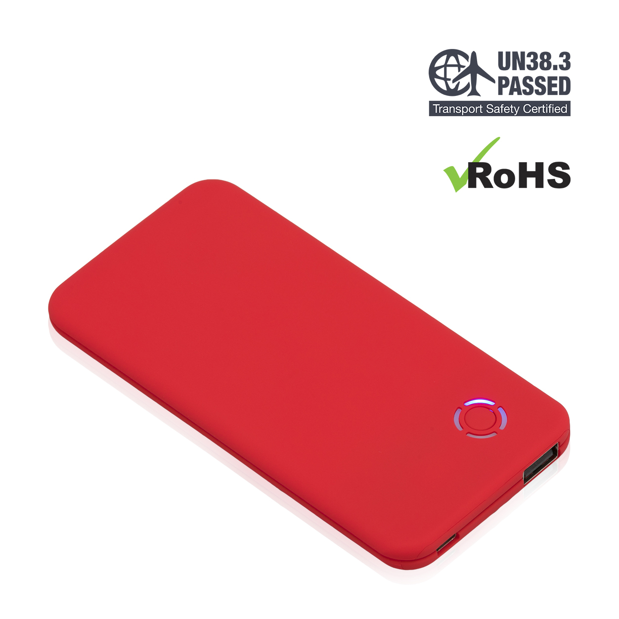 Red Power Bank 4000mAh