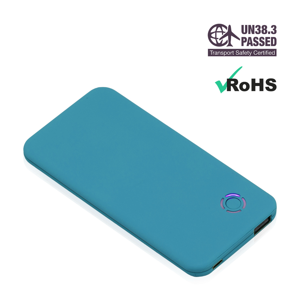Turquoise Power Bank 4000mAh