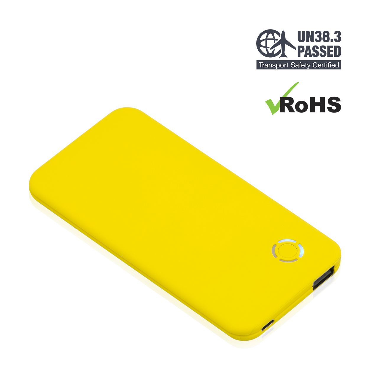 Yellow Power Bank 4000mAh