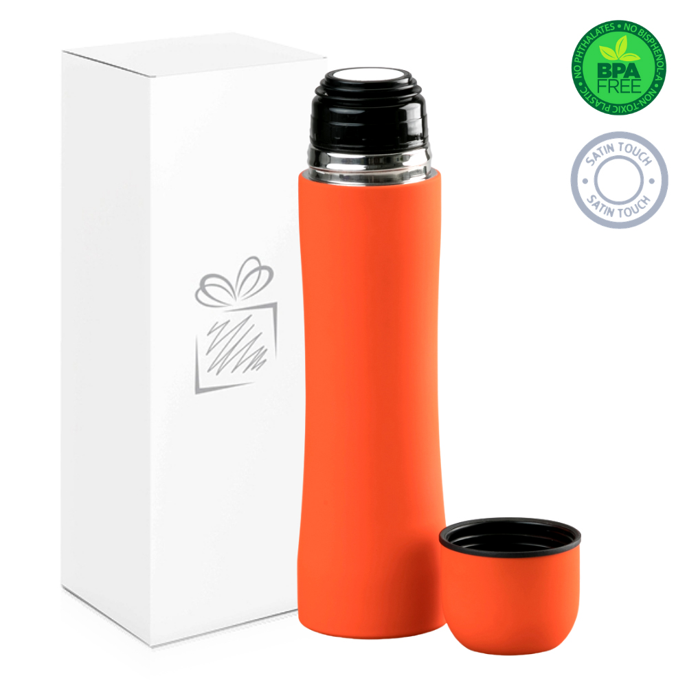 Orange Thermos (500ml)