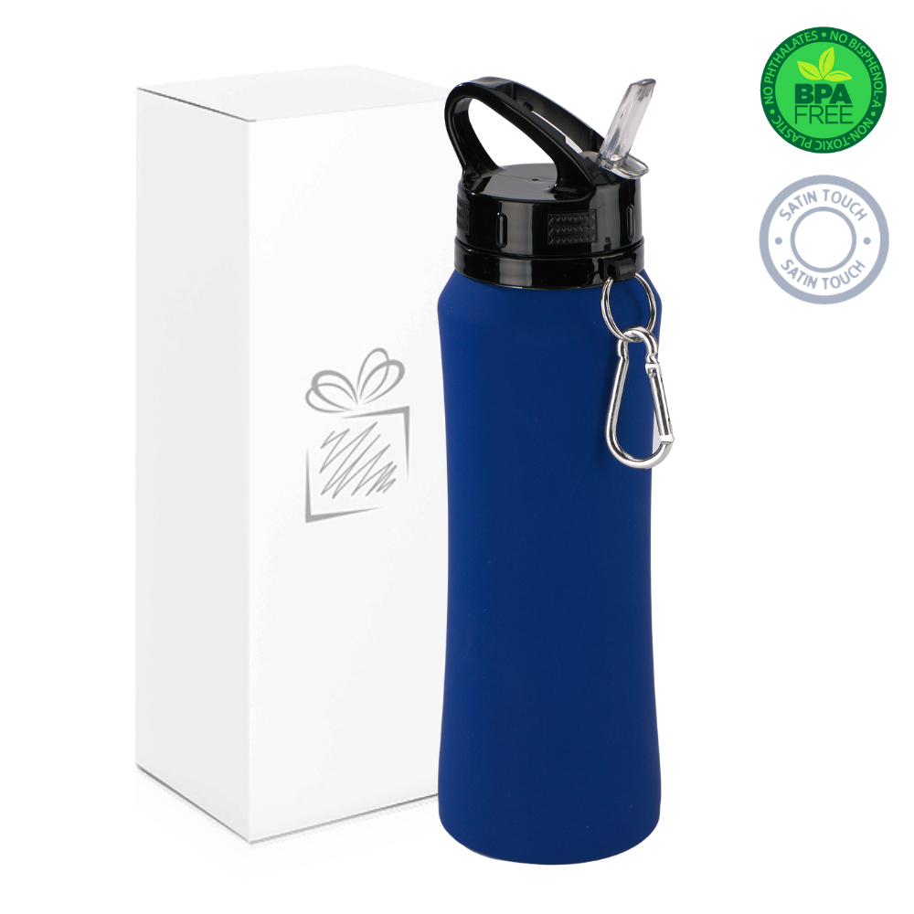 Navy Blue 700ml Water Bottle