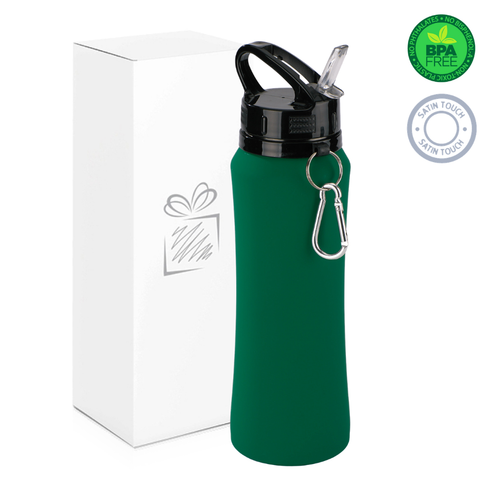 Green 700ml Water Bottle