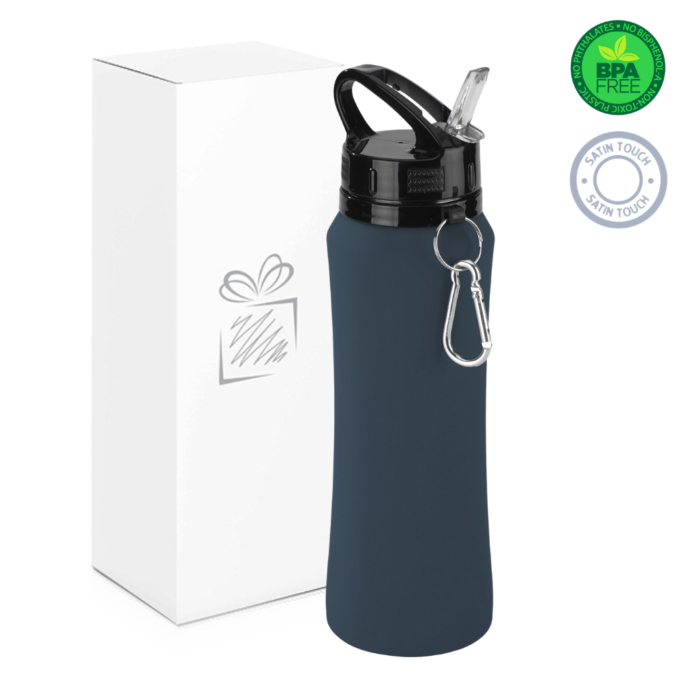 Grey 700ml Water Bottle