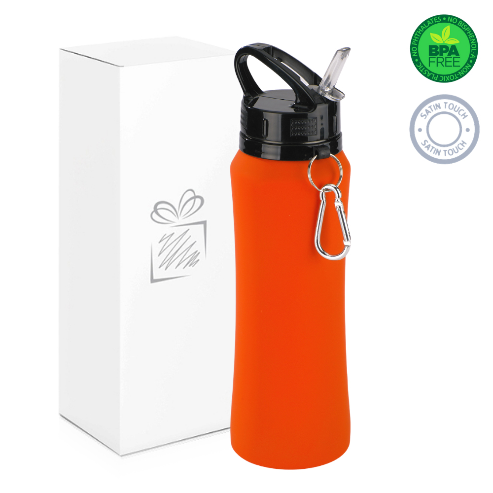 Orange 700ml Water Bottle