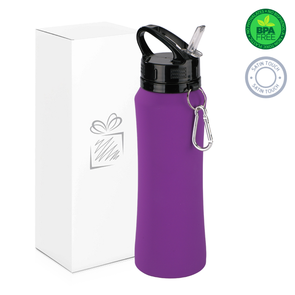 Purple 700ml Water Bottle 1
