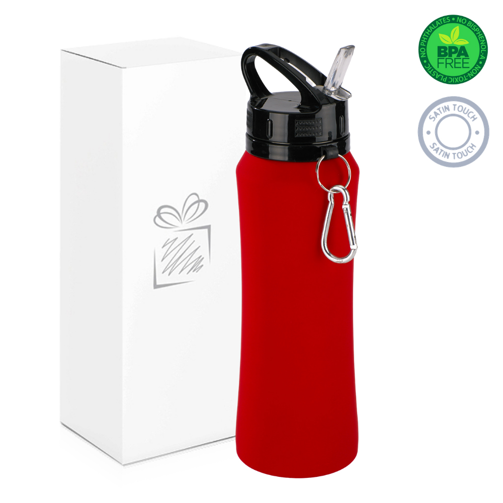 Red 700ml Water Bottle