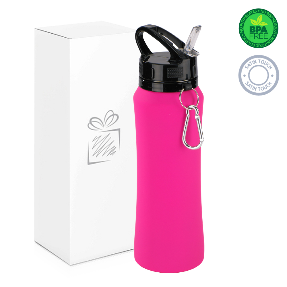 Pink 700ml Water Bottle