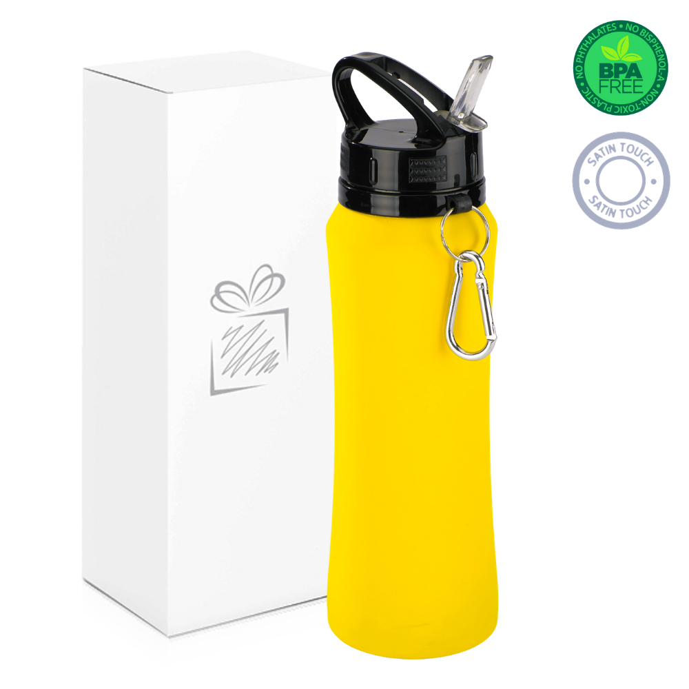 Yellow 700ml Water Bottle